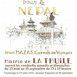 Vernissage exposition pour le Népal