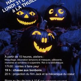 Halloween à La Thuile !