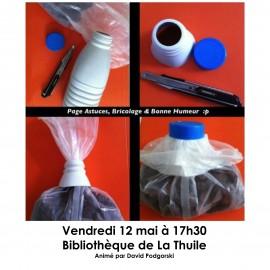 Atelier Récup'Art à La Thuile !
