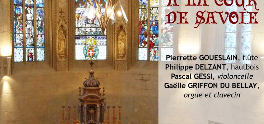 Reprise des concerts à la Sainte Chapelle
