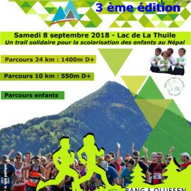 3ème Edition du Solida Trail Sherpa  le samedi 8 septembre 2018