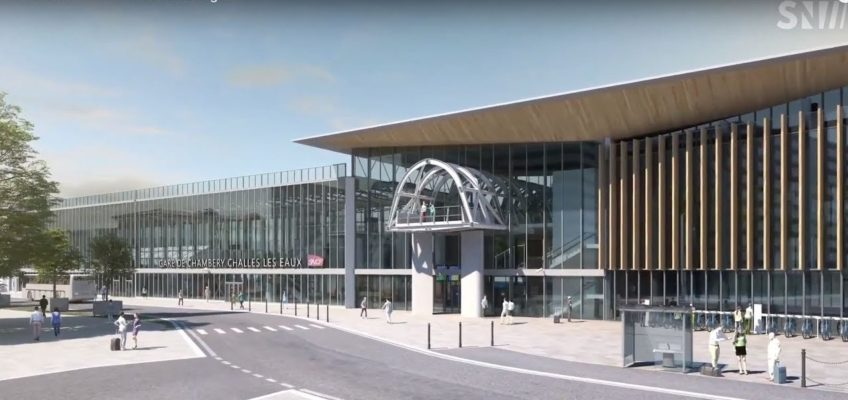 Présentation de la nouvelle gare de Chambéry