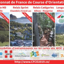 Championnat de France de course d'orientation / bilan
