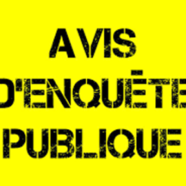 AVIS D'ENQUETE PUBLIQUE  SUR LE PROJET D'ALIÉNATION D'UNE PARTIE  DU CHEMIN RURAL DU CROUZAT