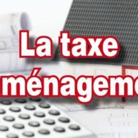 TAXE D'AMENAGEMENT 2020
